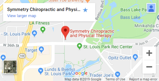 Map of St. Louis Park Chiropractors